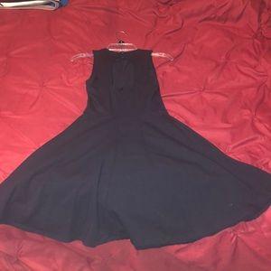 Hollister Dresses - Navy blue skater dress